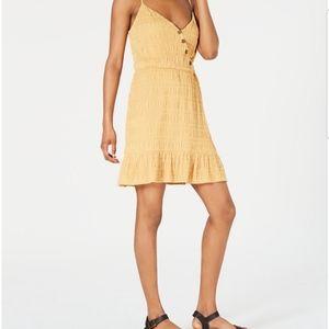 City Studio Womens Yellow Size XXS A-Line Dress